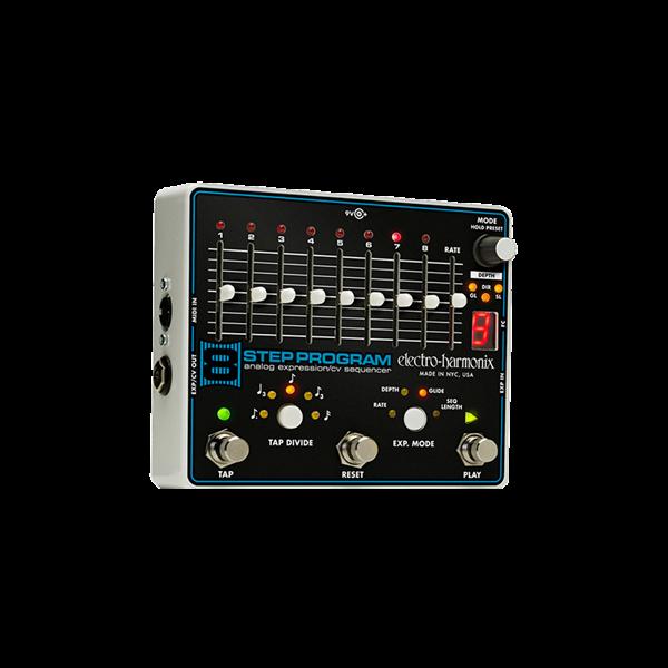 Electro-Harmonix 8 Step Program Analog Expression/CV Sequencer Pedal