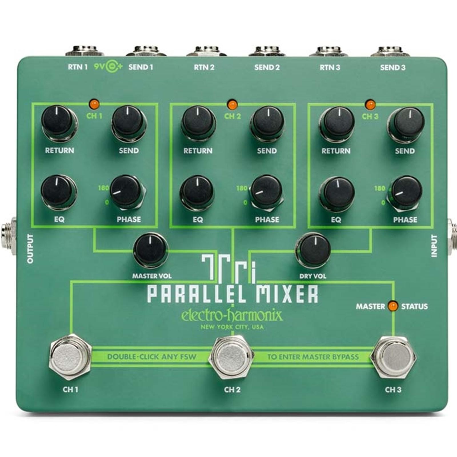 Electro-Harmonix Tri Parallel Mixer Pedal