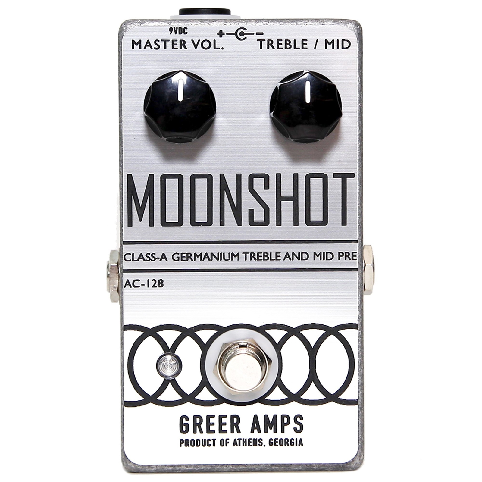 Greer Amps Moonshot Class-A Germanium Treble and Mid Pre Pedal