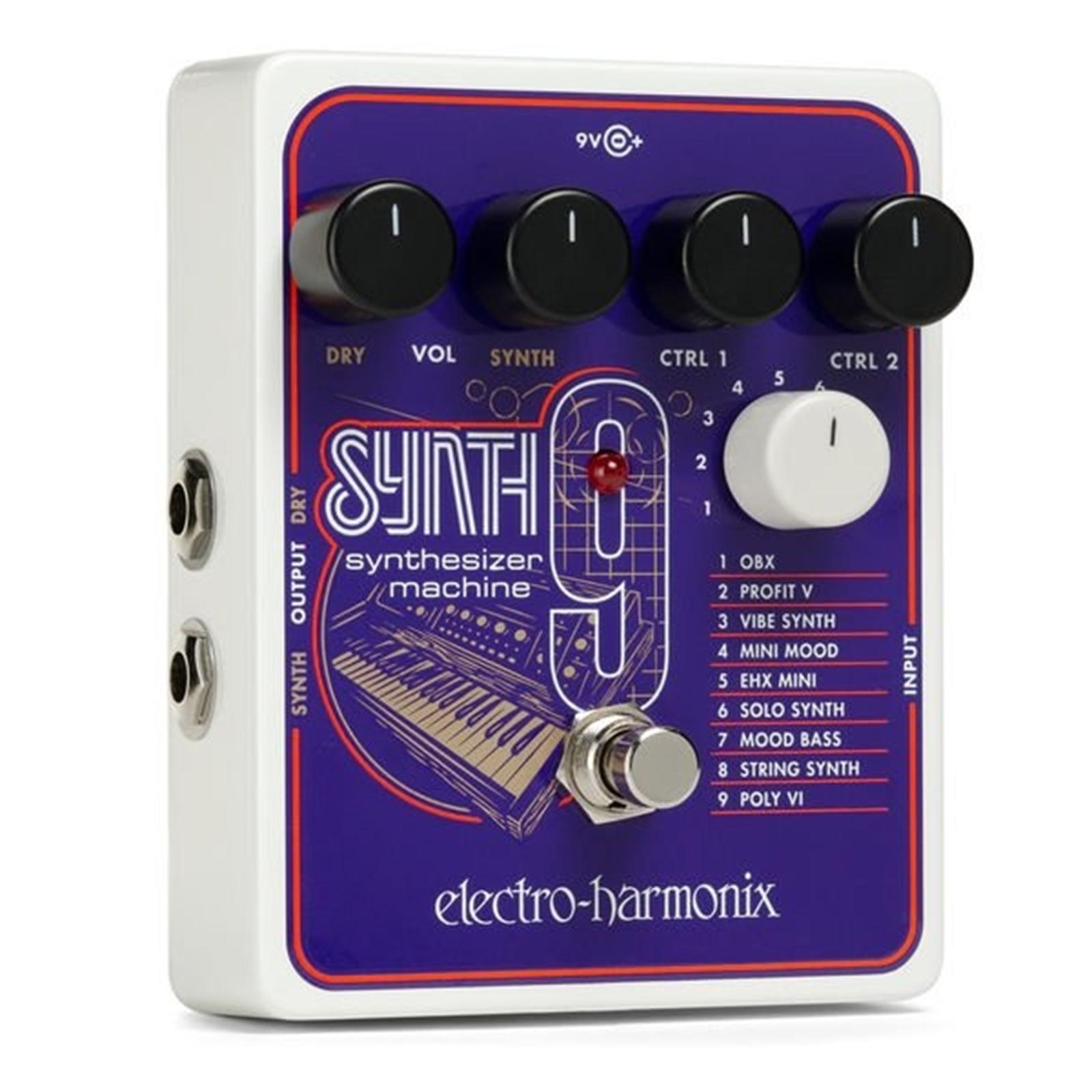Electro-Harmonix SYNTH9 Synthesizer Machine Pedal
