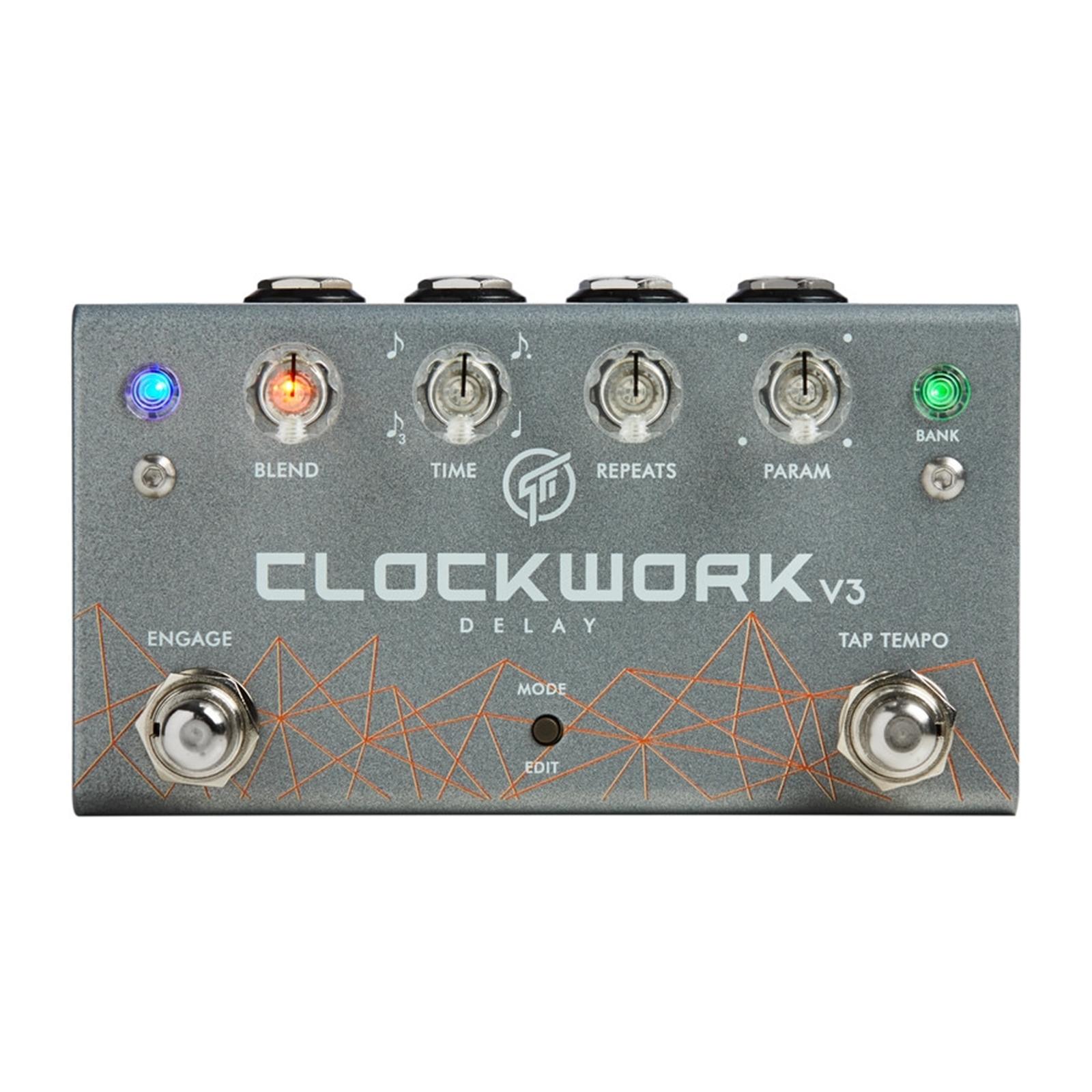 GFI System CLOCKWORK DELAY V3 Pedal