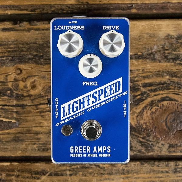 GREER Amps LIGHTSPEED ORGANIC OVERDRIVE PEDAL - USADO