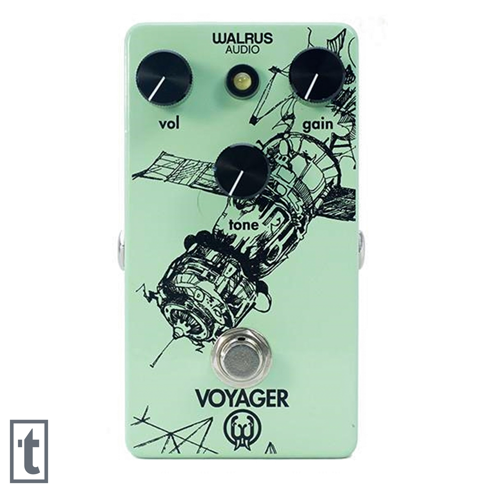 Walrus Audio Voyager Preamp/Overdrive Pedal