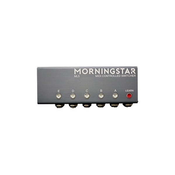 Morningstar - ML5 MIDI-controlled switcher Pedal