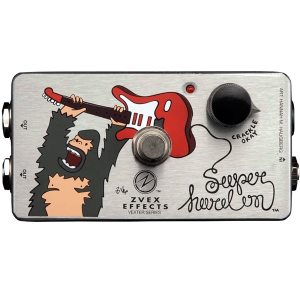 Zvex Super Hard On Booster Pedal