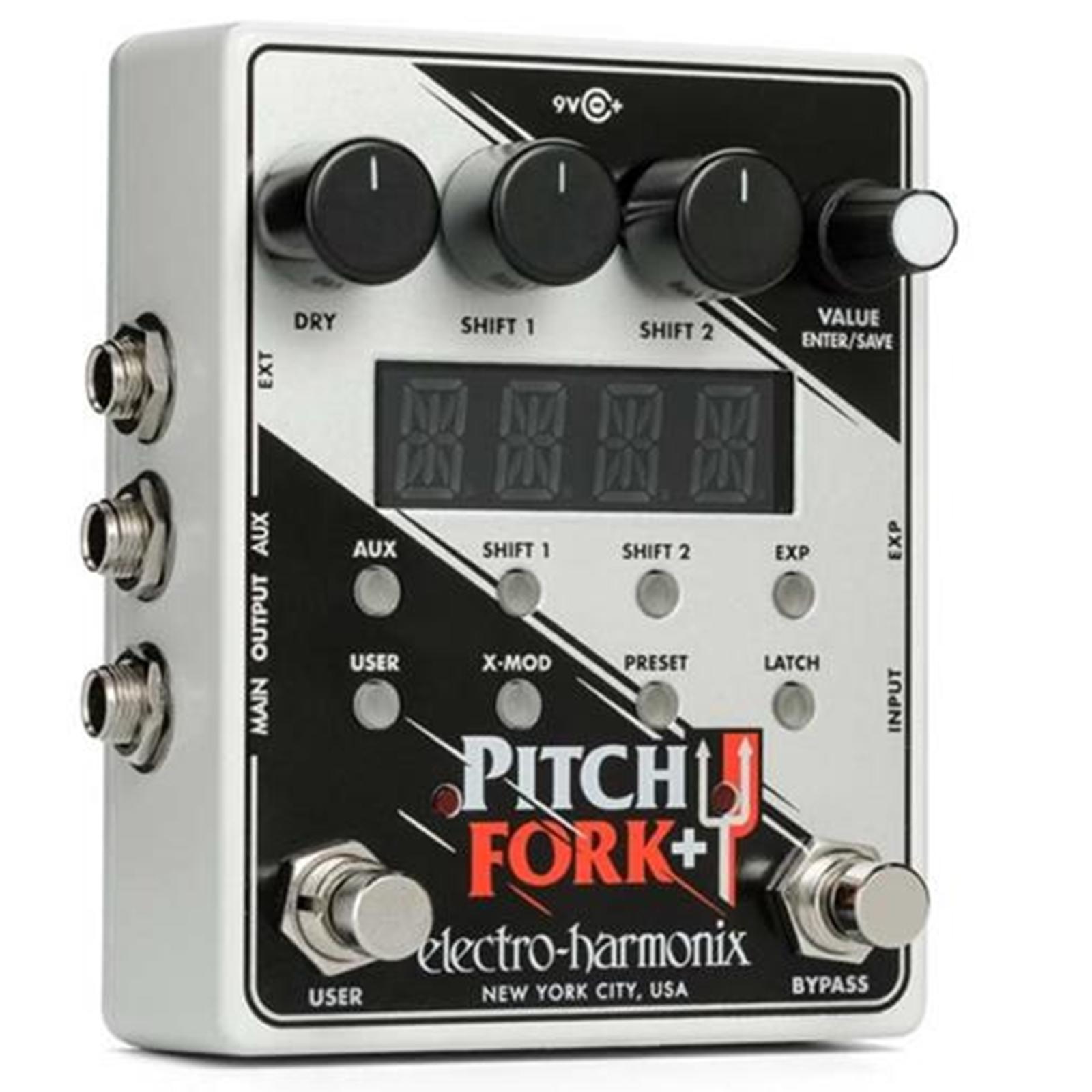 Electro-Harmonix Pitch Fork + Polyphonic Pitch Shift Pedal