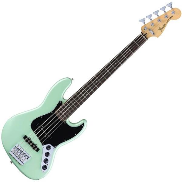 Fender Jazz Bass Deluxe Active Surf Pearl 5 Cordas
