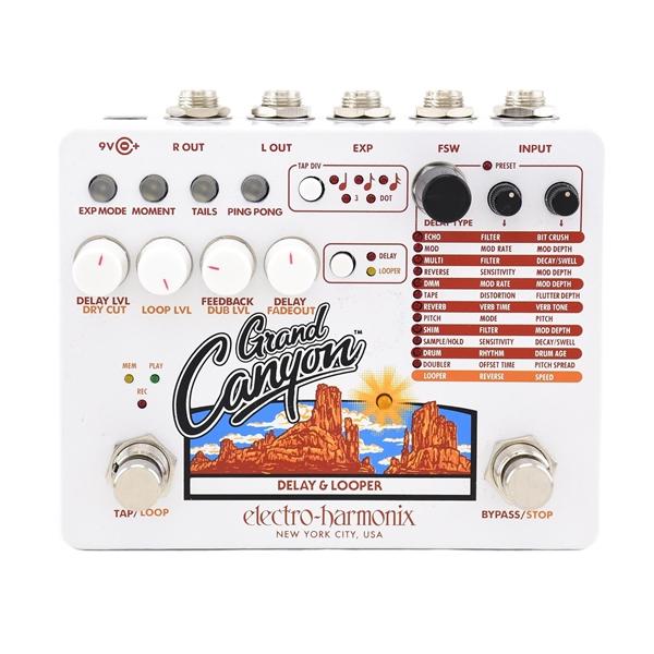 Electro-Harmonix Grand Canyon Delay and Looper Pedal