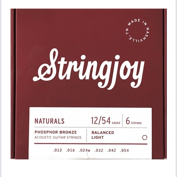 Stringjoy Naturals - Acoustic Guitar Strings