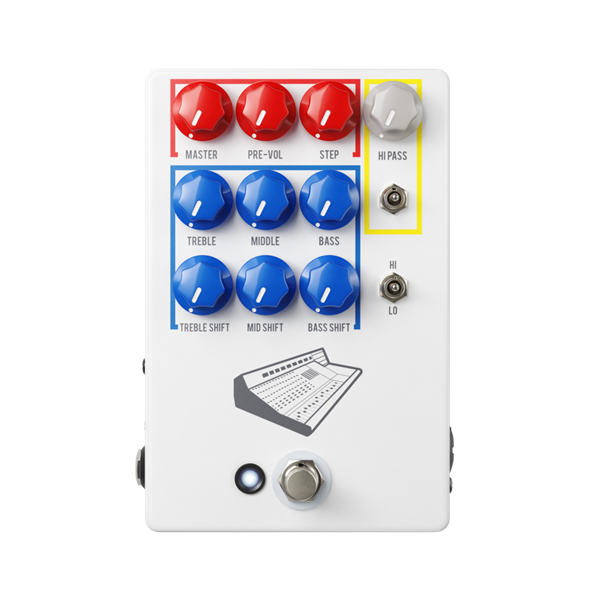 JHS Colour Box V2 Preamp Pedal