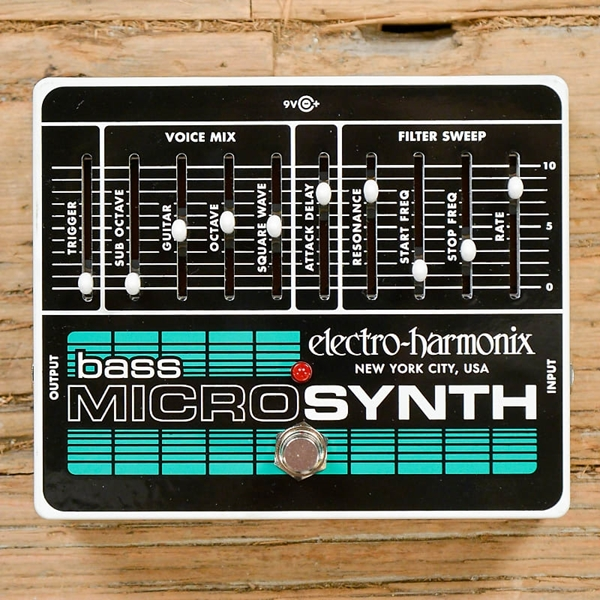 Electro-Harmonix Bass Micro Synth Pedal - USADO