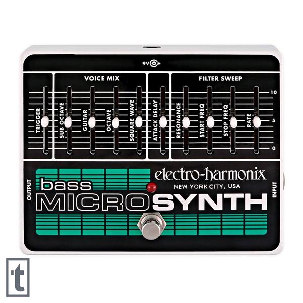 Electro-Harmonix Bass Micro Synth Pedal