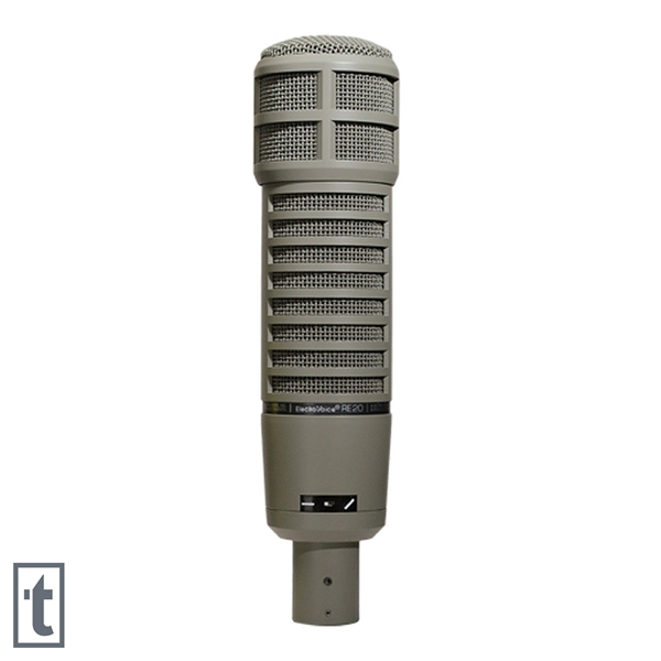 Electro-Voice RE20 Dynamic Broadcast Microphone with Variable-D