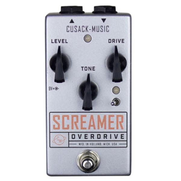 Cusack Screamer V2 - Overdrive Pedal