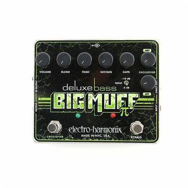 Electro-Harmonix Deluxe Bass Big Muff Pi Bass Fuzz Pedal