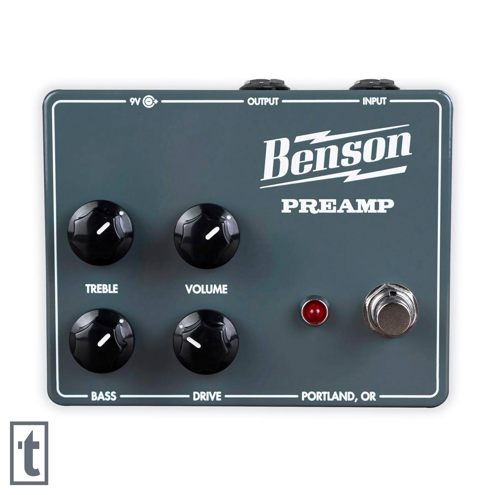Benson Preamp Pedal