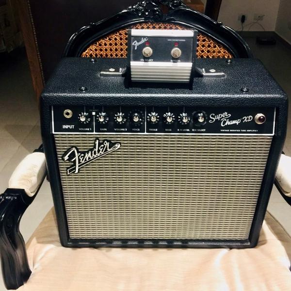 Amplificador Fender Super Champ Xd 15 Jj Tesla + Eminence Copperhead