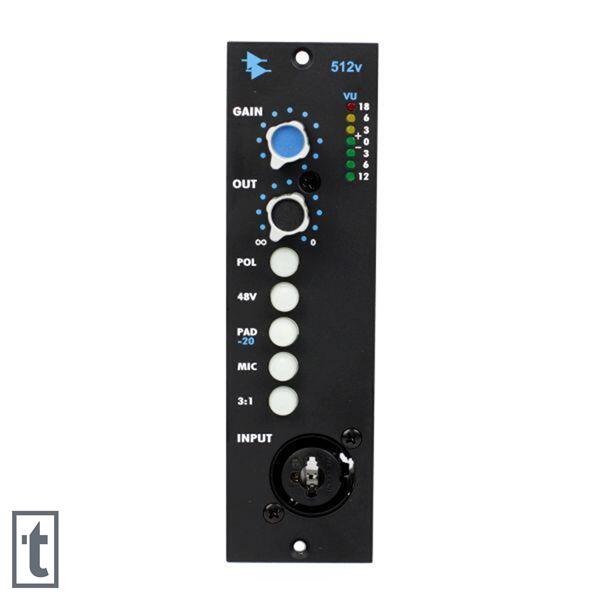API 512V 500 Series Discrete Microphone Preamp