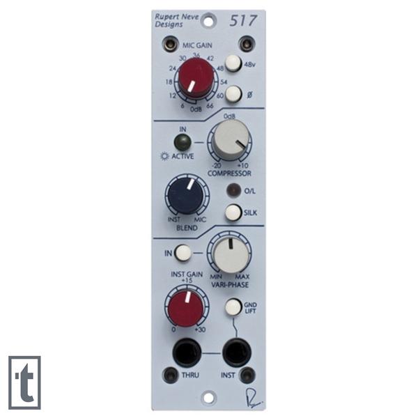 Rupert Neve Designs 517 500 Series Microphone Preamp & Compressor