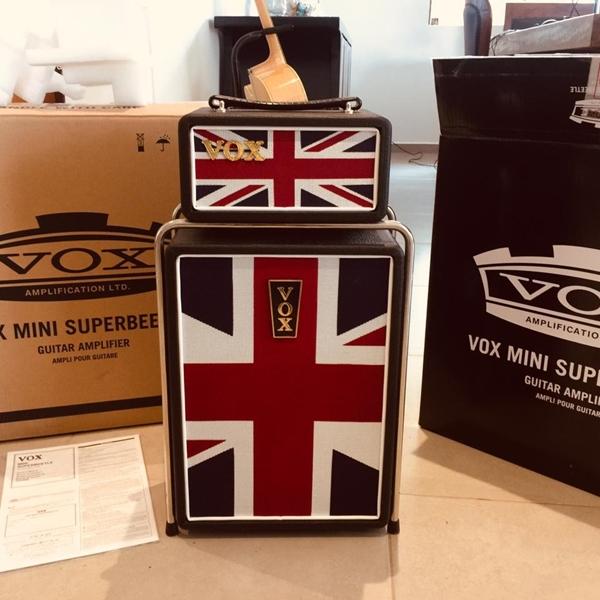 Combo Vox Mini Superbeetle Union Jack Amplificador novo na caixa