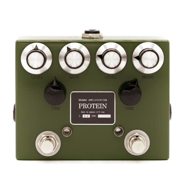 Browne Amplification Protein Overdrive Pedal