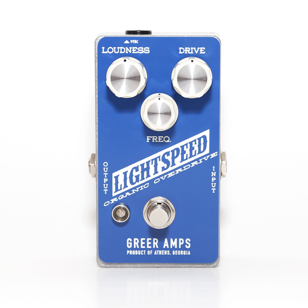 GREER Amps LIGHTSPEED ORGANIC OVERDRIVE PEDAL